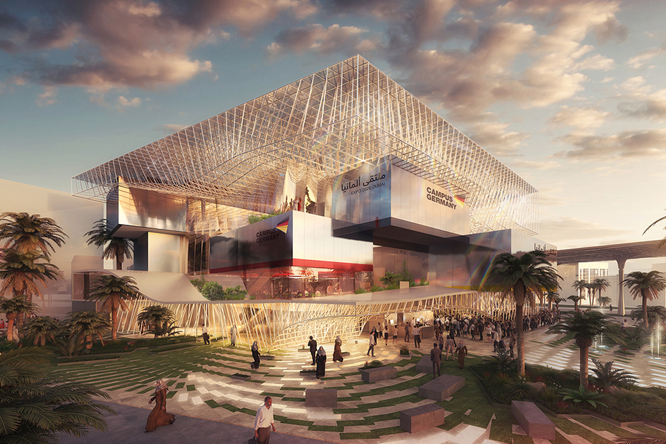 """Expo 2020 Dubai's Campus Germany is a """"big"""" but """"good challenge"""""""
