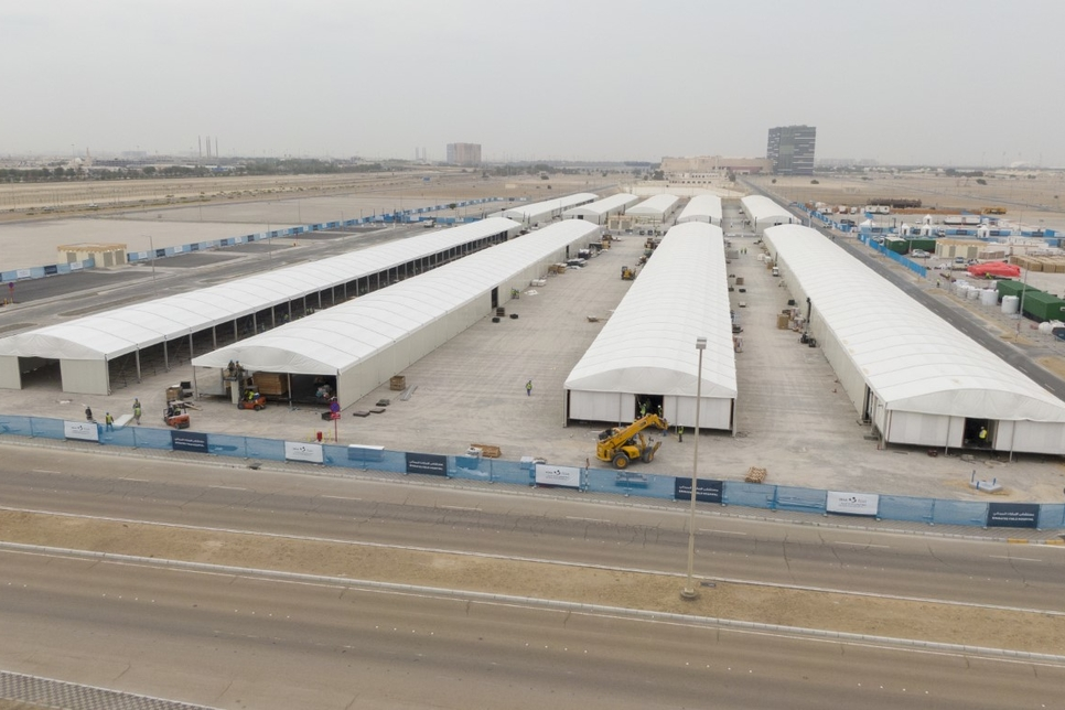 Abu Dhabi's SEHA builds three field hospitals to combat COVID-19