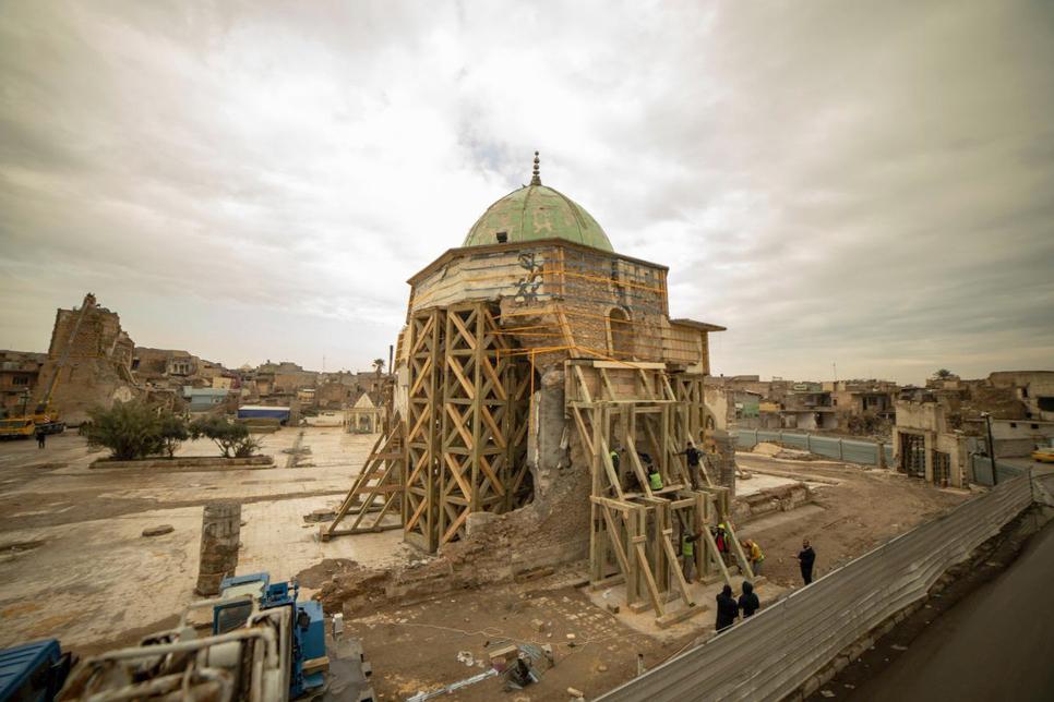 UNESCO continues reconstruction of Al-Nouri Mosque in Mosul