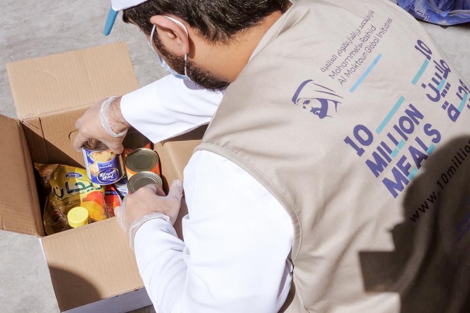 Khalifa Juma Al Nabooda's donation to provide 100,000 meals