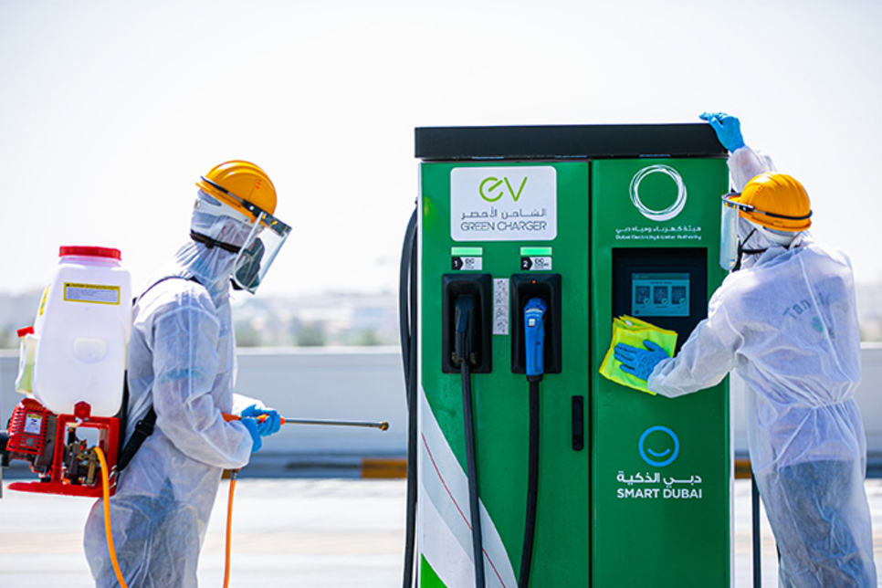 DEWA launches EV charging smart service for customers