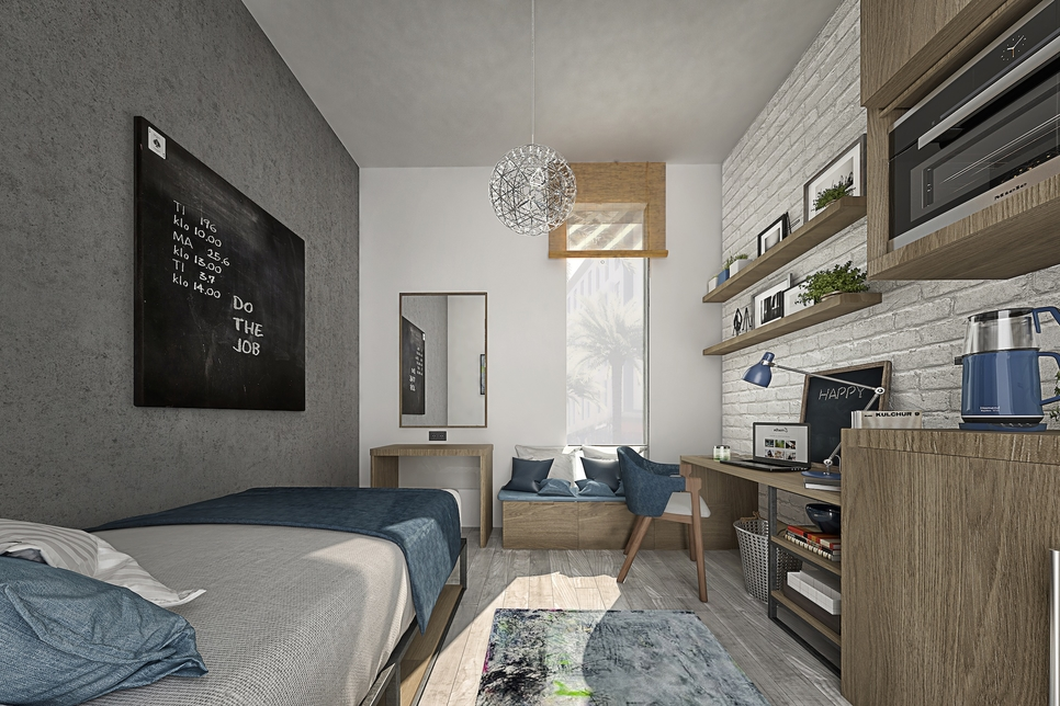 Dubai's first student housing community 90% complete