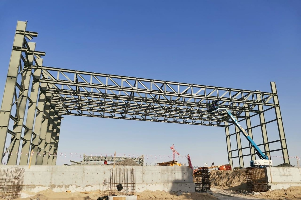 Dubai's EBS awarded steel structures contract within Dubai CommerCity