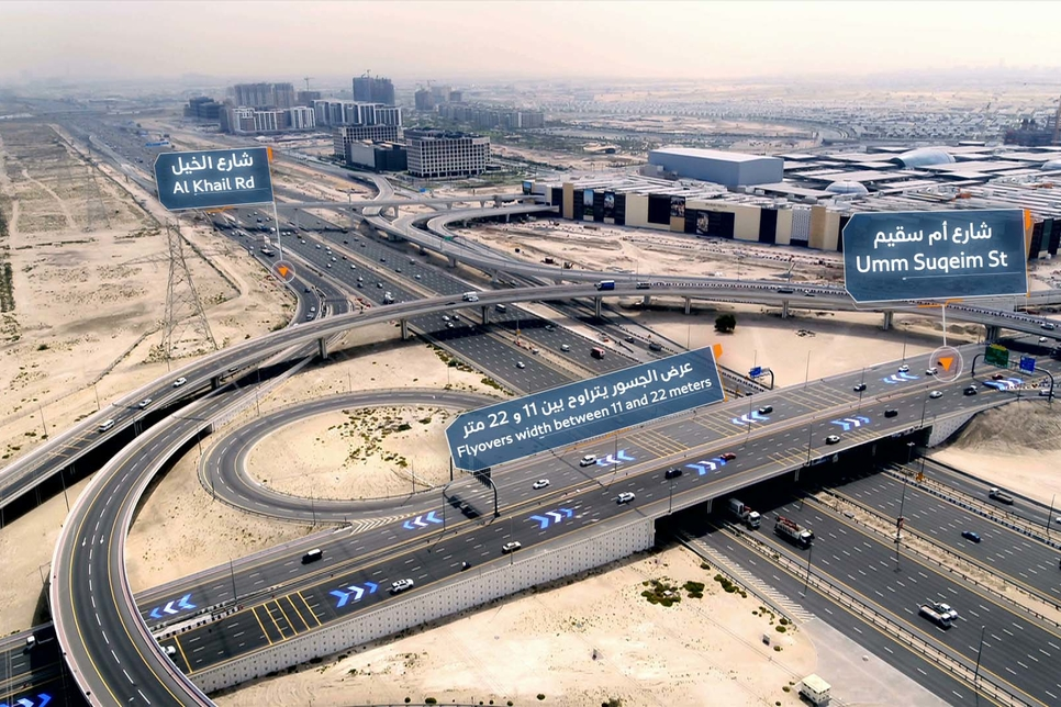 RTA completes road project with 13 bridges leading to Dubai Hills Mall