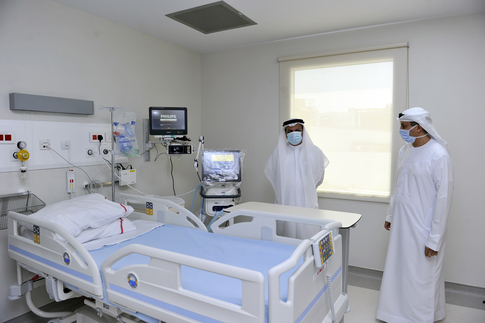 COVID-19: DHA opens 1,500m2 medical isolation facility