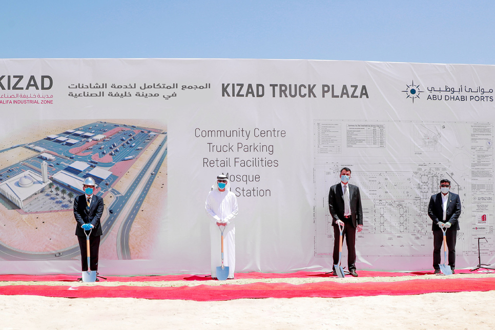 KIZAD breaks ground on 87,000m2 plaza with refuelling, rest facilities
