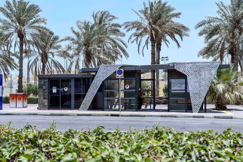 VIDEO: RTA unveils four of 1,550 new generation bus shelters in Dubai