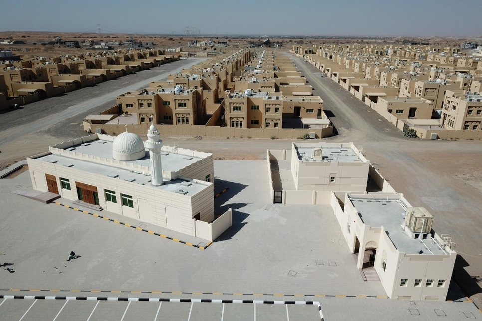 SDPW completes service projects in Sharjah's Al Riq residential area