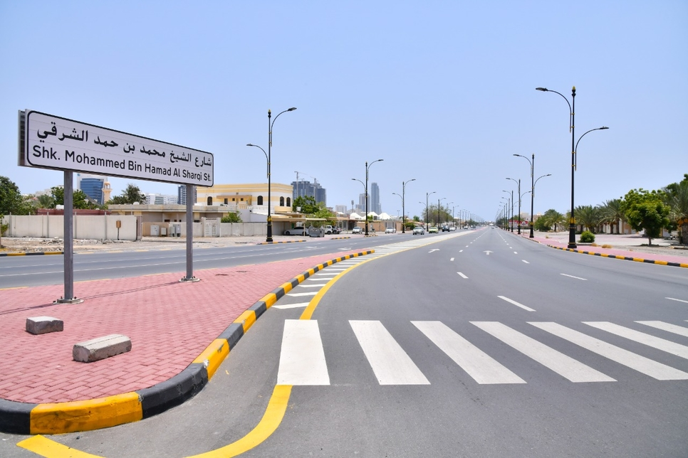 Fujairah completes Phase 1 of 57km internal roads project