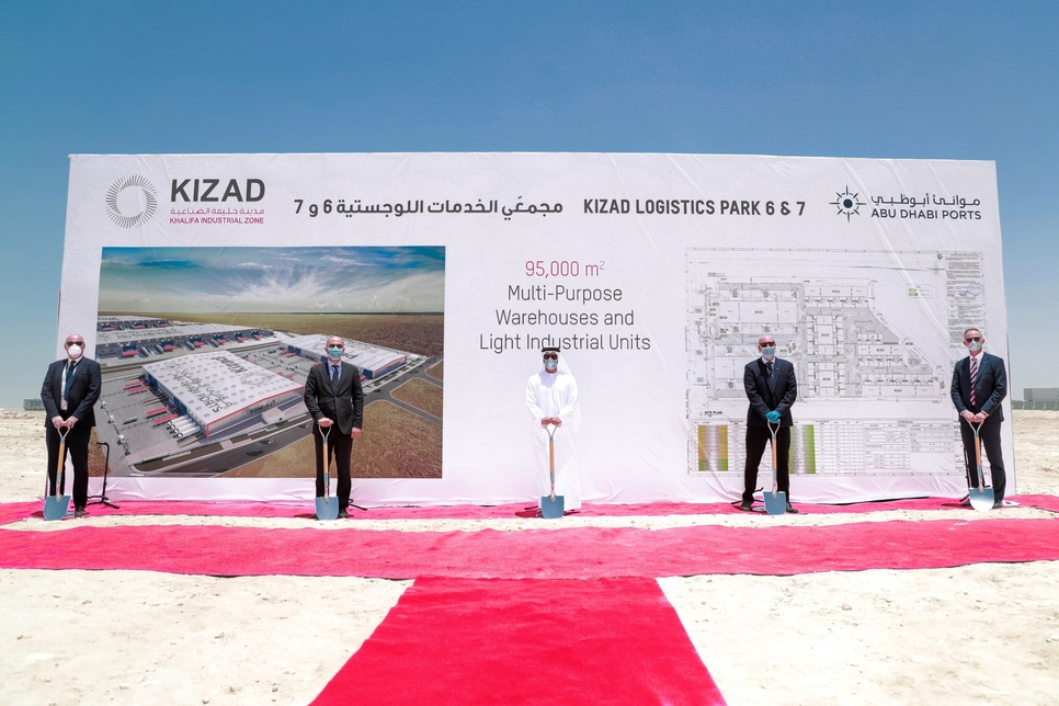 KIZAD breaks ground on warehousing, industrial units