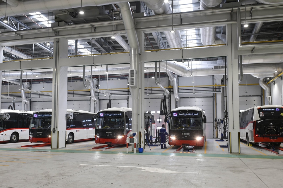 RTA completes construction of Al Quoz Bus Depot with 102 rooms