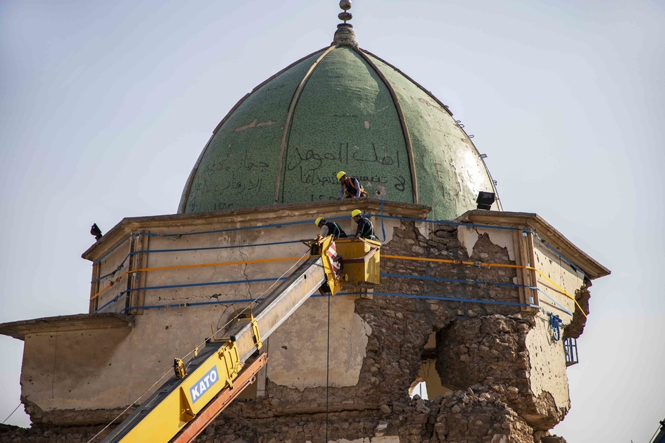 Phase 1 of Mosul's Al-Nouri Mosque rebuilding project complete