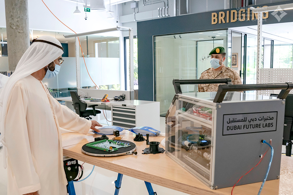 PICTURES: HH Sheikh Mohammed inaugurates Dubai Future Labs