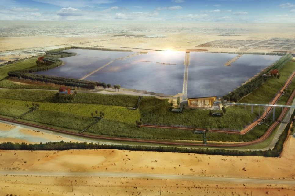 Bee'ah launches region's first landfill solar farm project