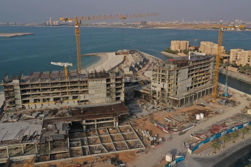 Works on RAK AMI Hotel's Mövenpick Resort hits 40%