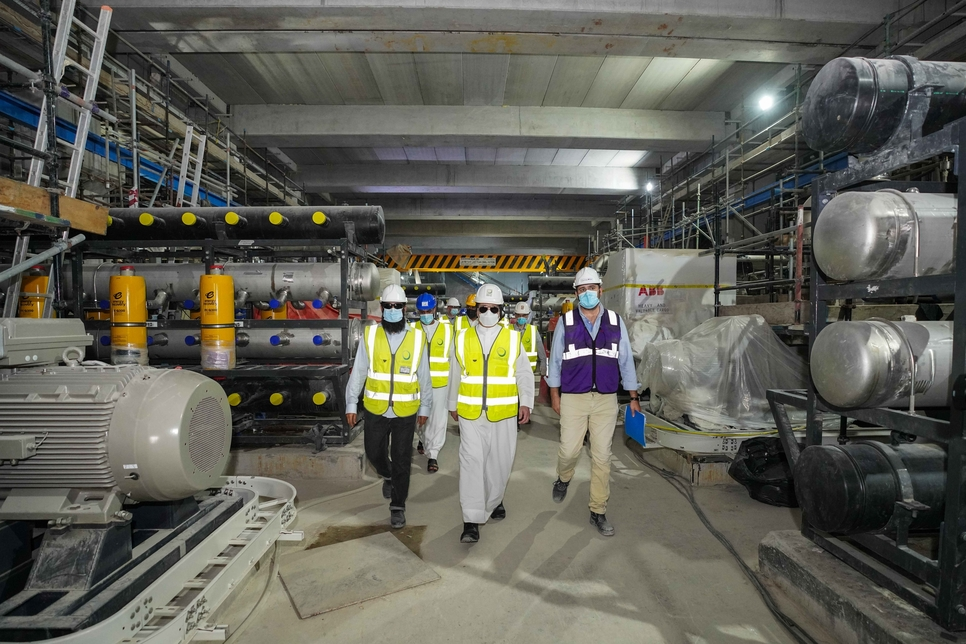 Construction of DEWA's SWRO desal plant in Jebel Ali 79% complete