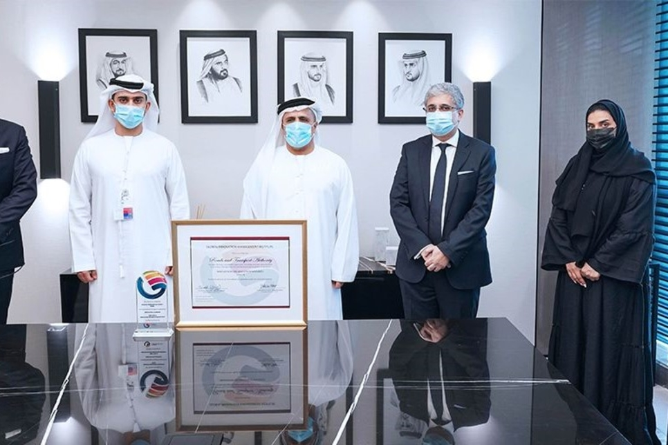 RTA earns first-of-its-kind innovation certificate