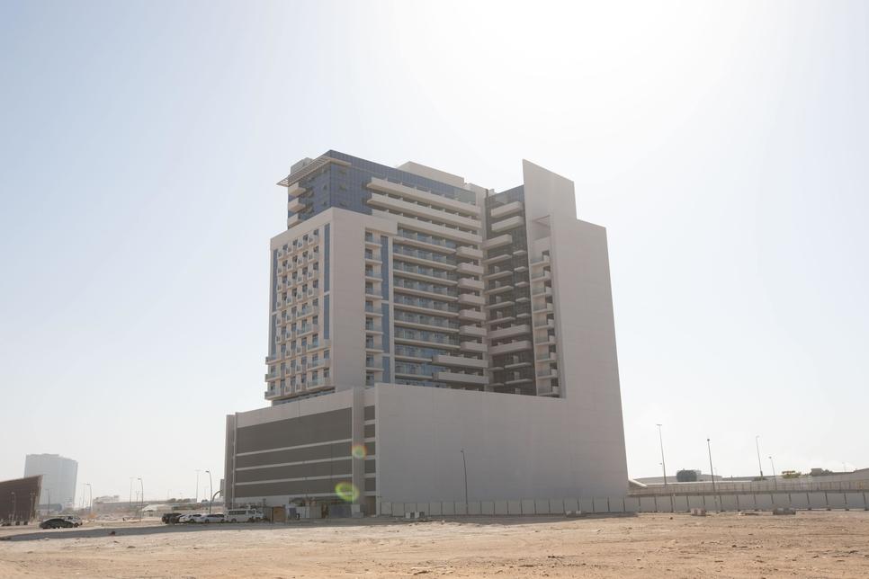Construction of Azizi Developments' 479-unit Aura is 95% complete