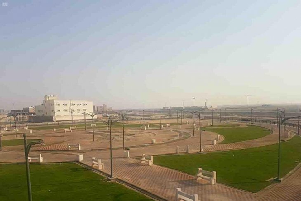 project consists of a garden with a total area of 32,000m2