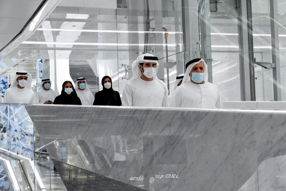 sheikh-hamdan-visits-route-2020-dubai-metro