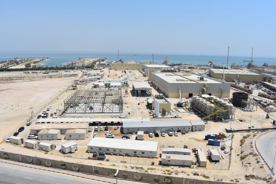 ACCIONA built Al Khobar 1 desal plant marks first water production