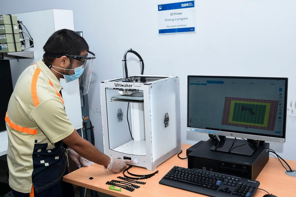 RTA, Serco build Dubai Metro spare parts using 3D printing