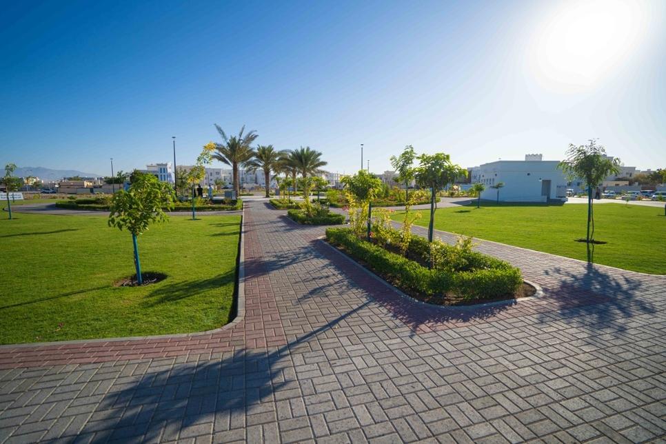 Al Khoudh Public Park Muscat Municipality Al Seeb