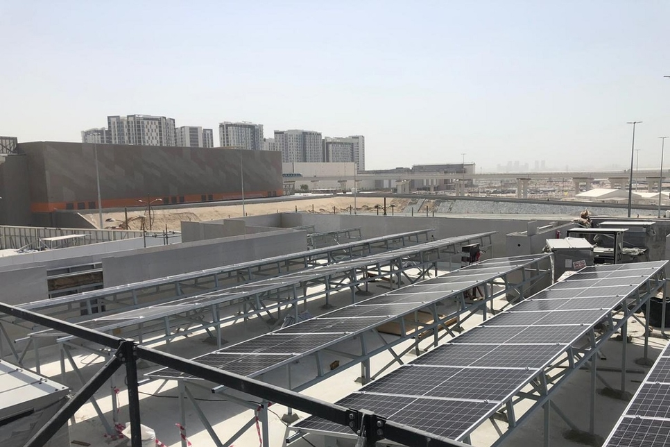 Monaco-Pavilion-Expo-2020-Dubai-rooftop-solar-panels-installation