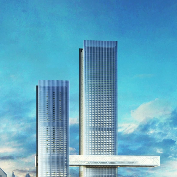 "VIDEO: Ithra Dubai's One Za'abeel ""The Link"" bridge takes shape"