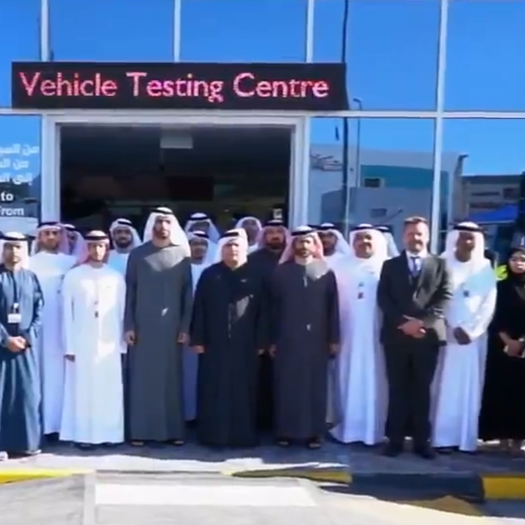VIDEO: RTA opens 5,017m2 testing, registration facility in Al Mamzar