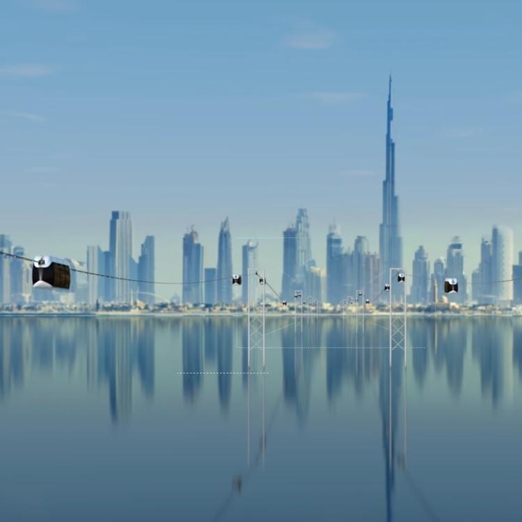 SRTI Park's SkyWay driverless pods enter Phase 2 of development