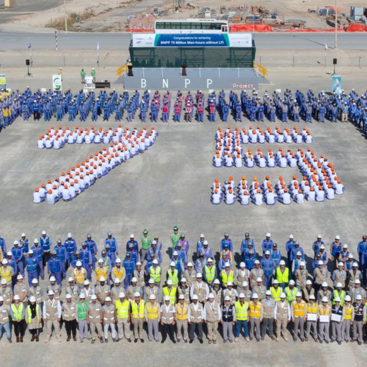 ENEC hits 75m safe manhours at Barakah Nuclear Energy Plant