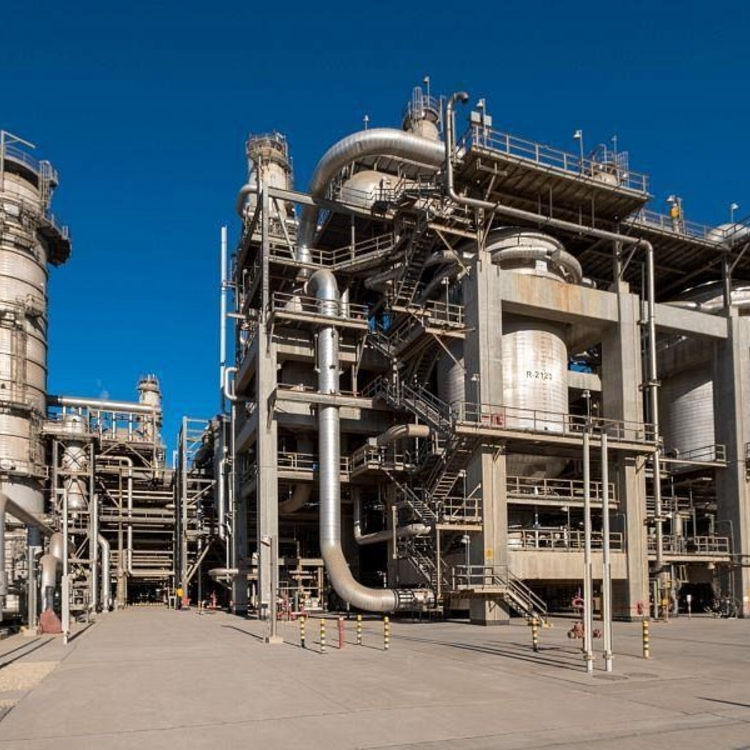 PICTURES: Saudi's SABIC sets up plant to collect, purify carbon